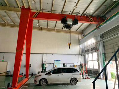 Semi Gantry Crane 15 Ton Manufacturer