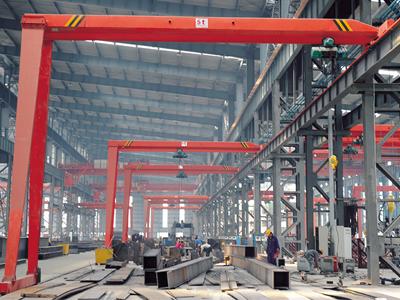 5t Semi Gantry Crane Supplier