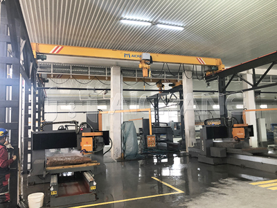 Electric Overhead Crane With Chain Hoist for Sale