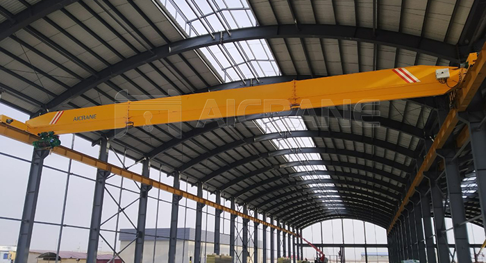 10 Ton Overhead Crane Installed at Our Customer Site